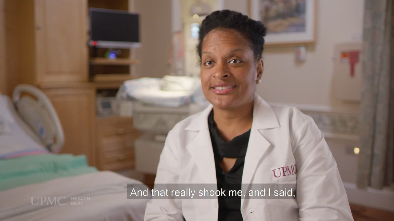 UPMC Life Changers: How Dr. Sharee Livingston Is Working to Reduce Maternal Mortality in Women of Color