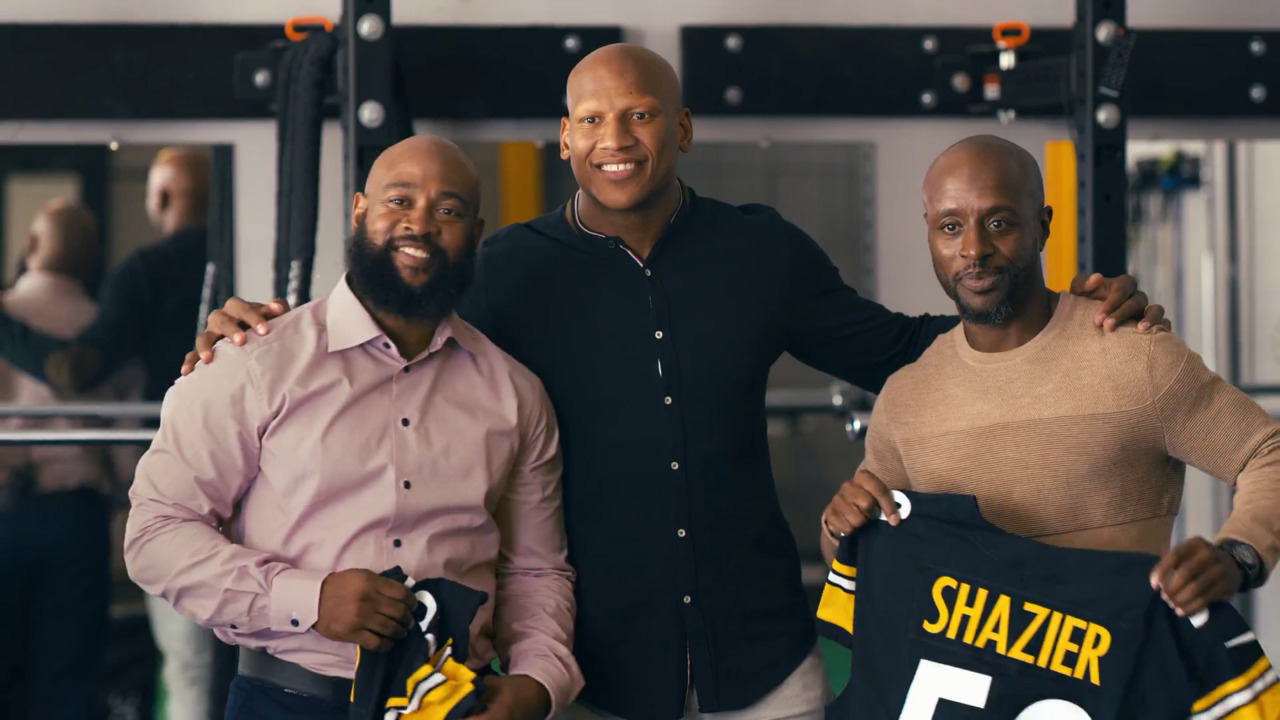 Ryan Shazier's 50 Phenoms: From Training to Transplant, Best Friends Build Unbreakable Bond