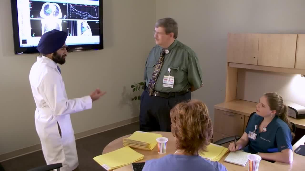 Receiving Your Radiation Treatment