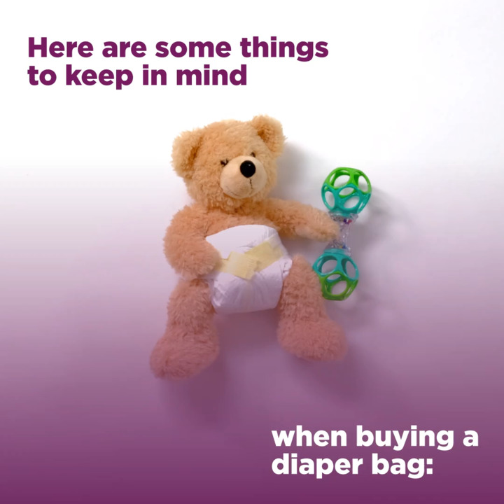 Baby Basics: How to Pack a Diaper Bag