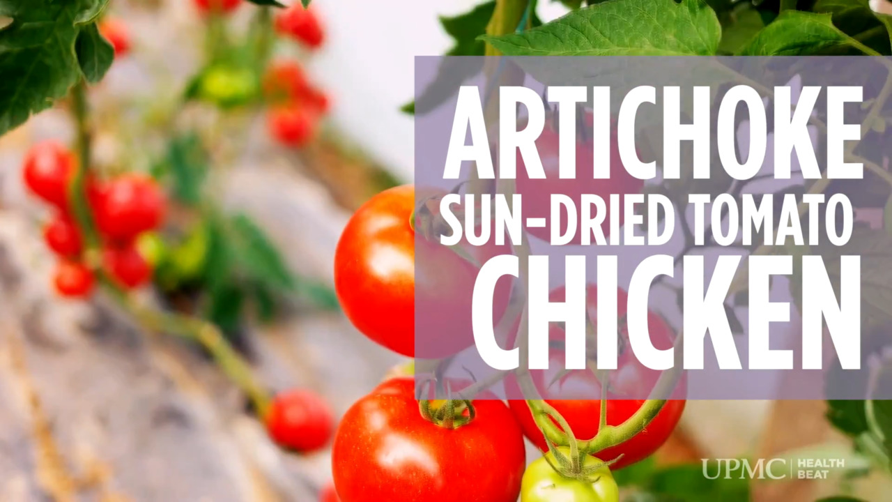 Video Recipe: Artichoke And Sun-Dried Tomato Chicken