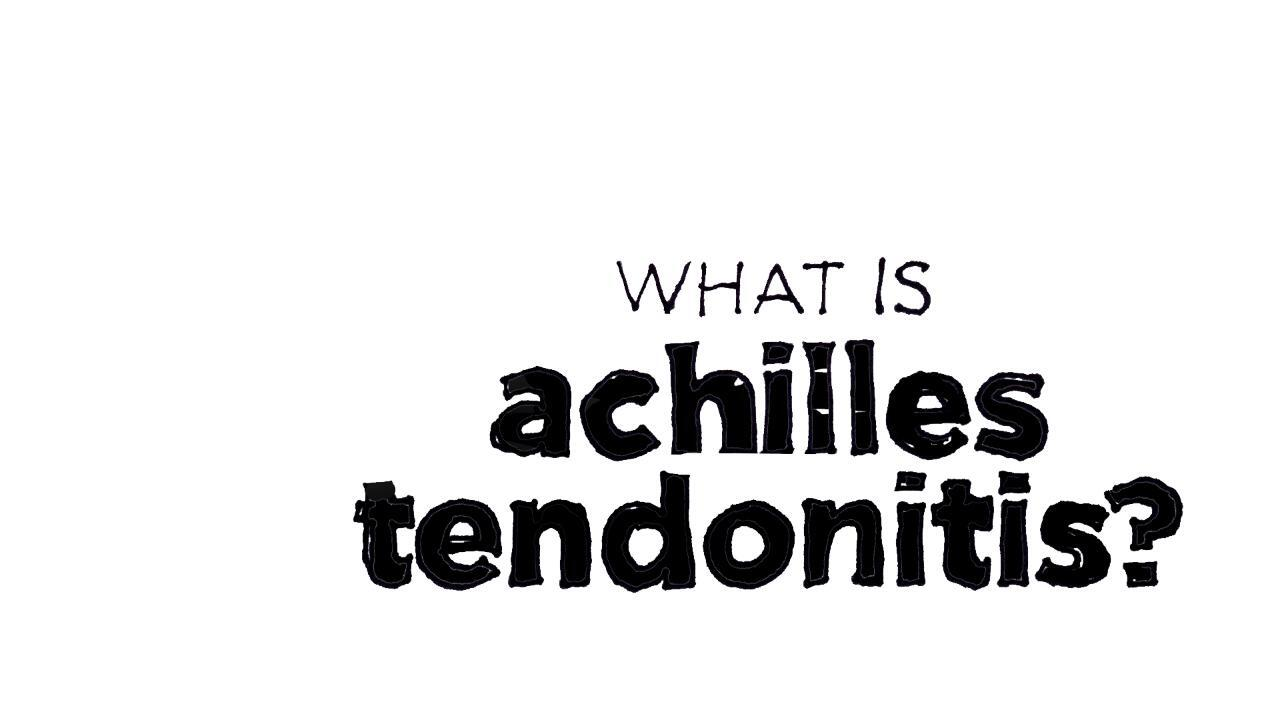 Achilles Tendon Problems: What You Need to Know
