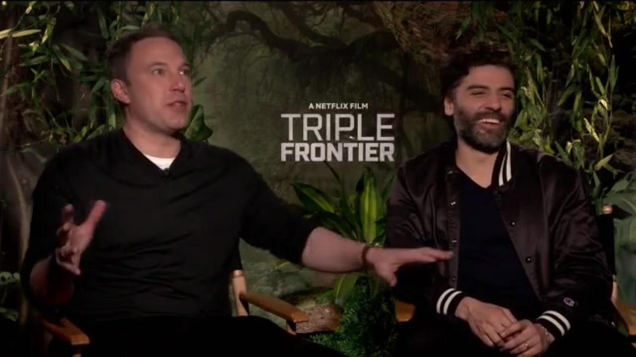 b58b32e0 Jungle heist: Affleck, Hunnam and Isaac star in twisty Netflix thriller ' Triple Frontier'