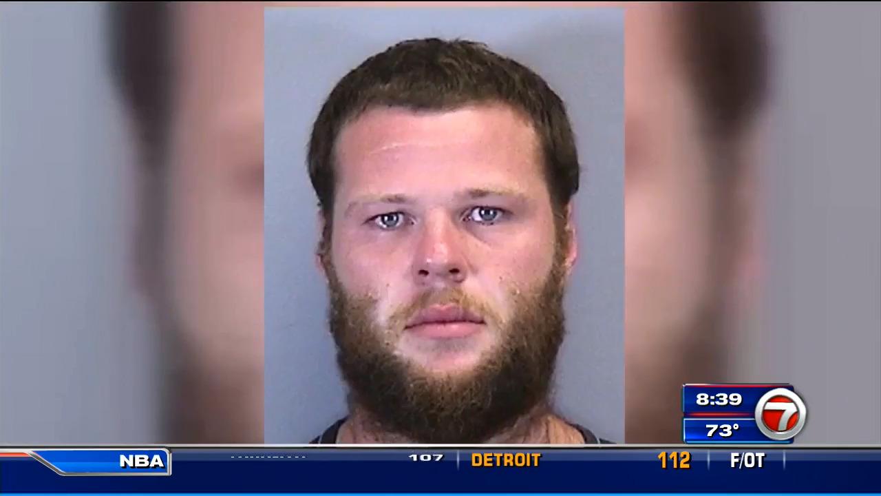 Man in custody for hit-and-run crash that sent car tumbling in