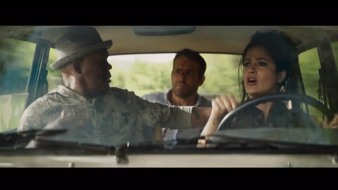 Salma Hayek joins Ryan Reynolds, Samuel L. Jackson to save the world in 'Hitman's Wife's Bodyguard' – WSVN 7News   Miami News, Weather, Sports   Fort Lauderdale