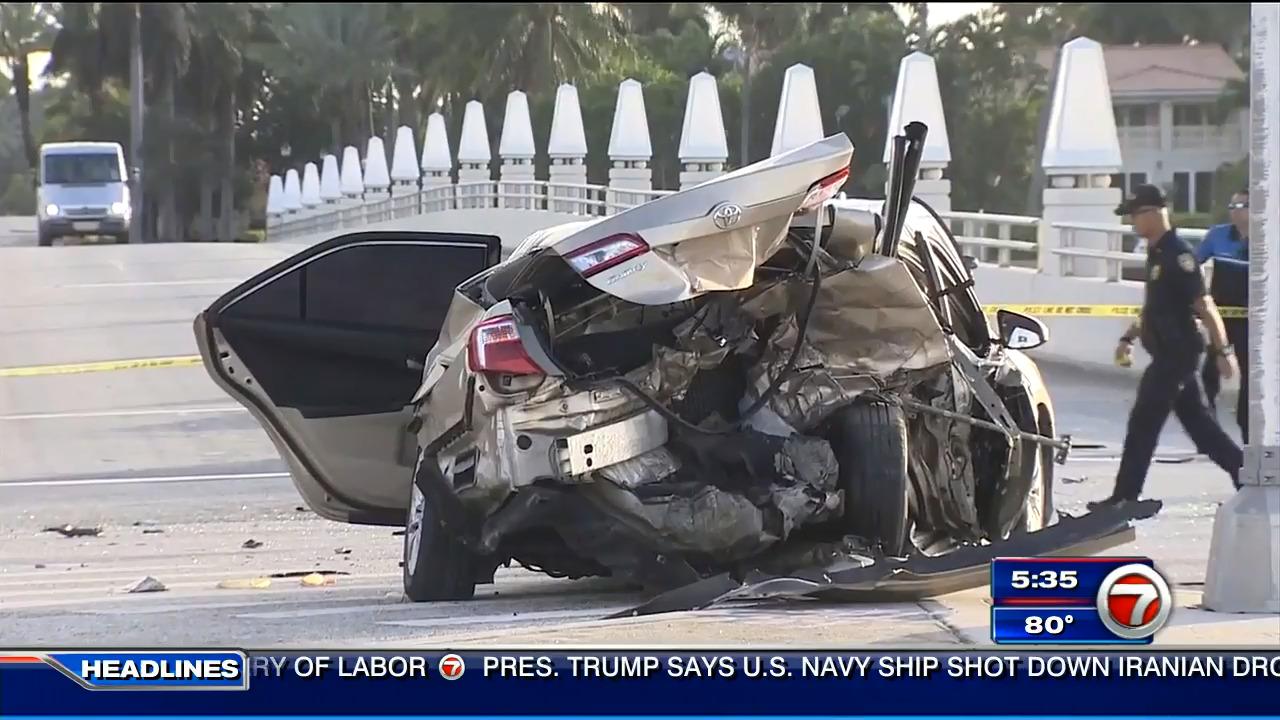 Miami Beach Police investigating fatal crash on MacArthur
