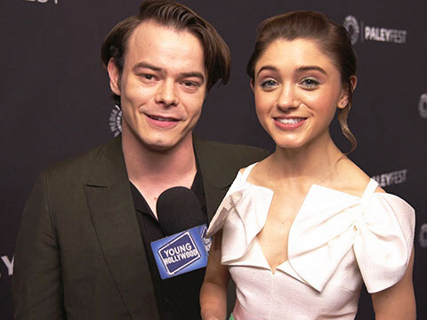 Stranger Things's Natalia Dyer & Charlie Heaton Get Hype For Season 3