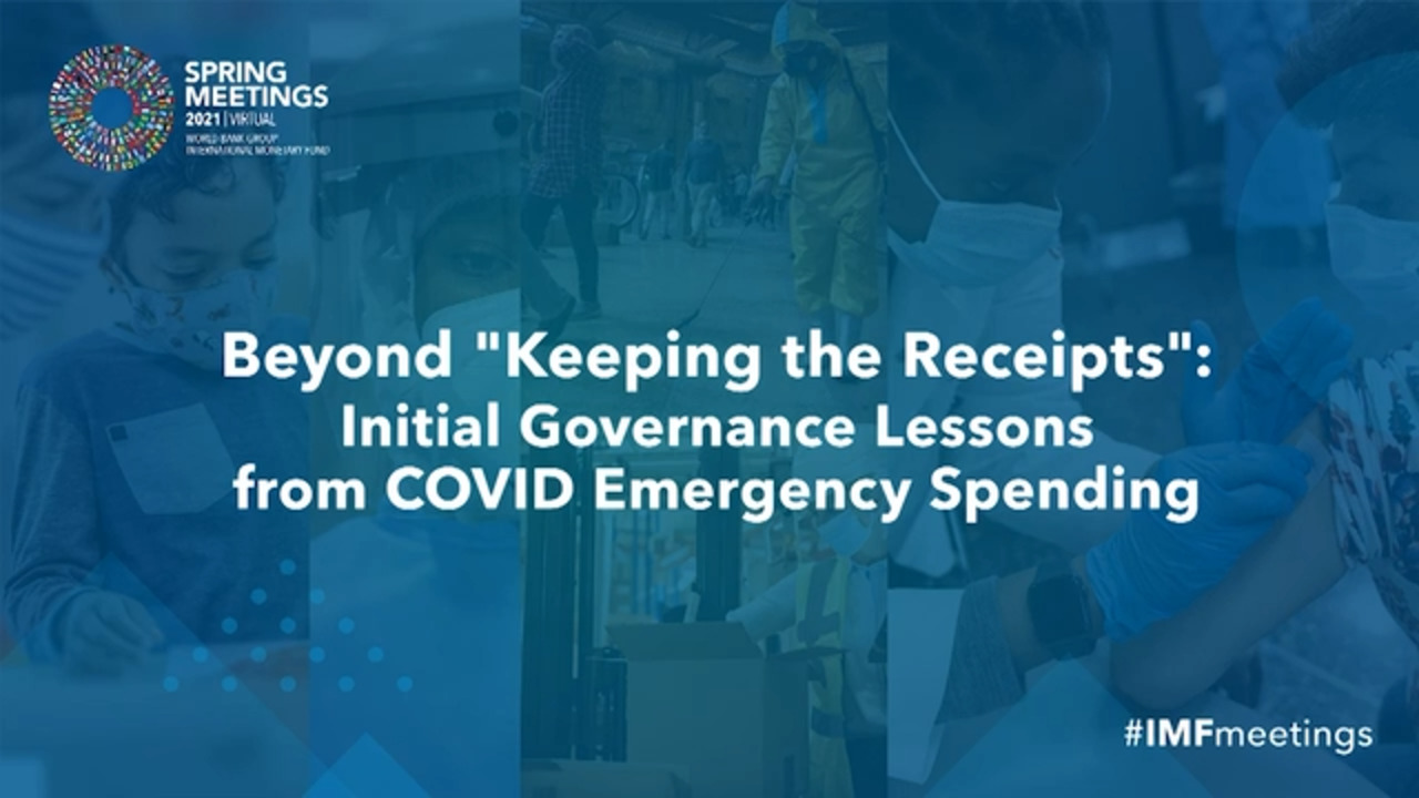 Beyond Keeping the Receipts: Initial Governance Lessons from COVID Emergency Financing