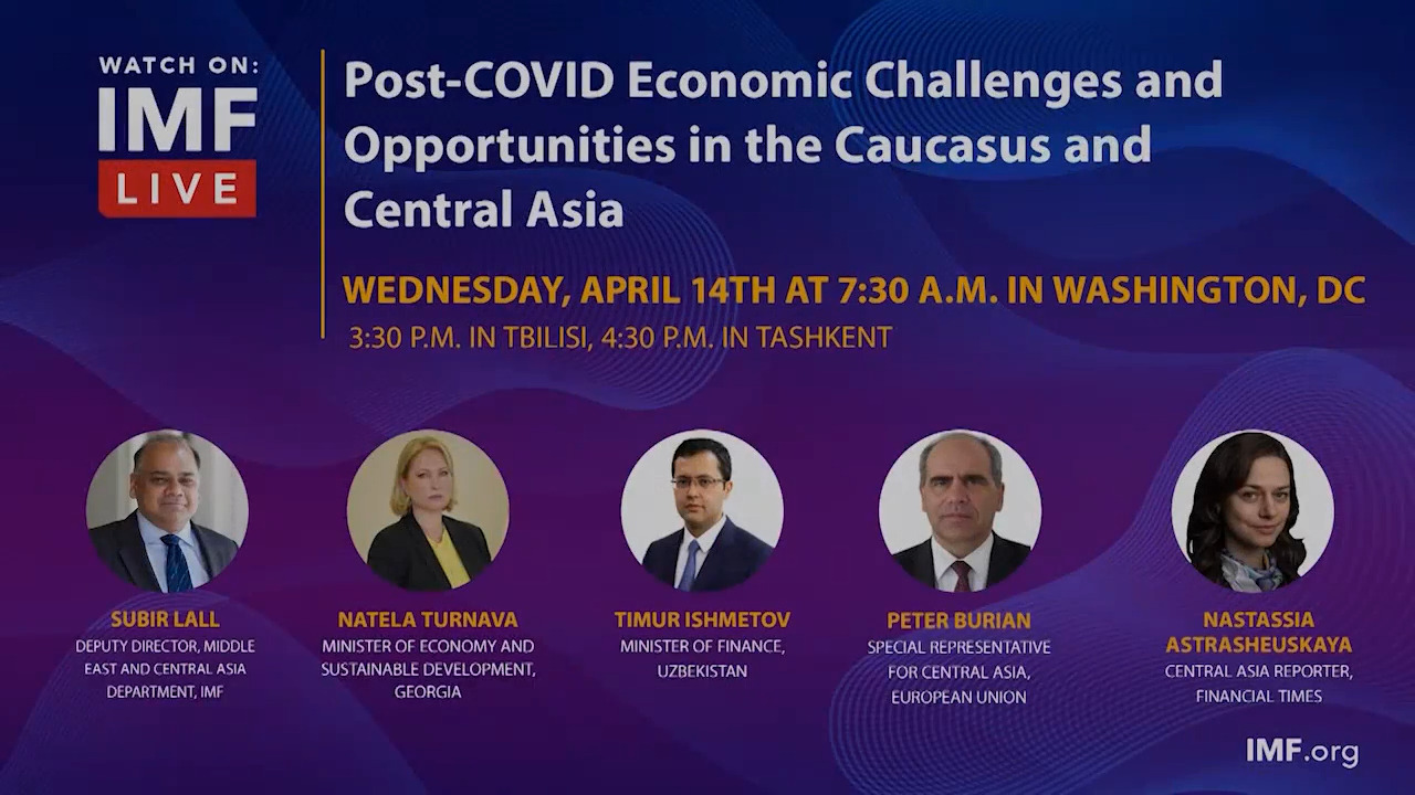 Post-COVID Economic Challenges and Opportunities in the Caucasus and Central Asia