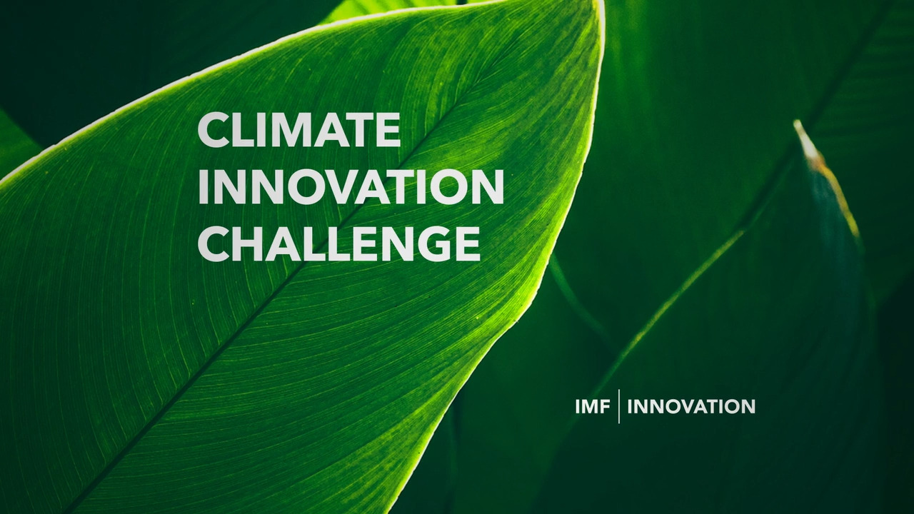 Launch of the Climate Innovation Challenge