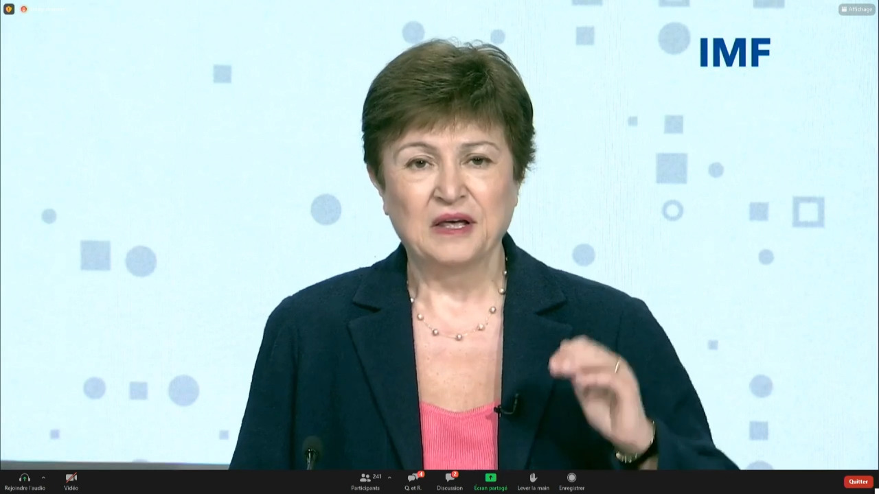 French- Joint IMF – WHO – WTO – WBG Press Briefing