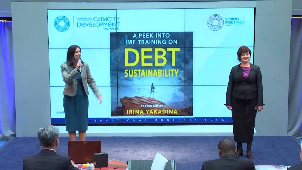 A Peek into IMF Training on Debt Sustainability