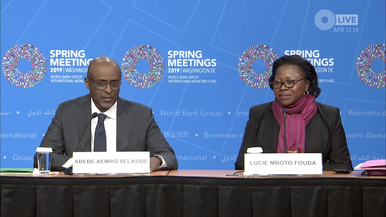 French - Press Briefing: Regional Economic Outlook: Sub-Saharan Africa, April 2019