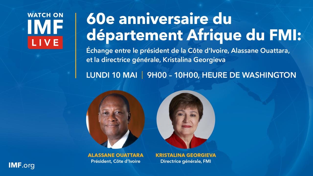 60e anniversaire du départment Afrique du FMI