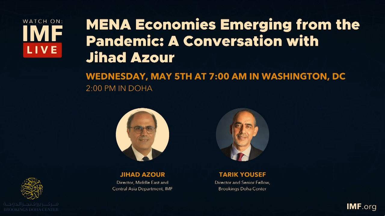 MENA Economies Emerging from the Pandemic