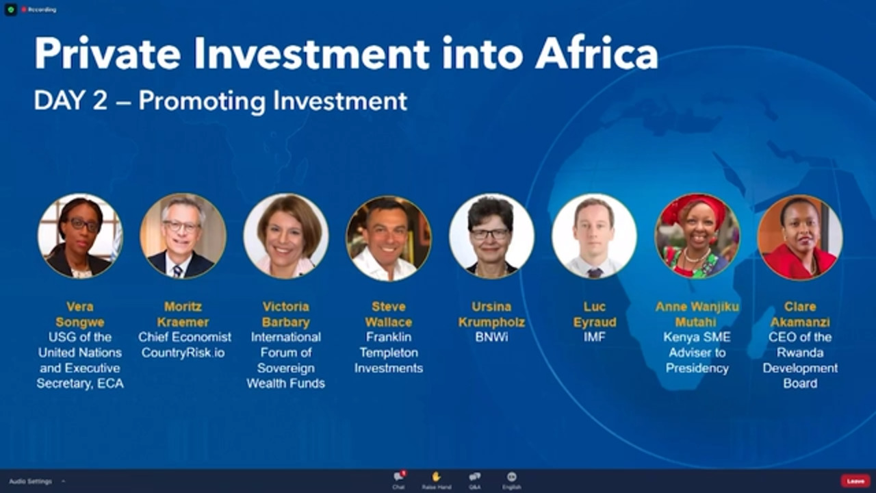Mobilizing Private Finance for Development –  What African Policymakers Can Do