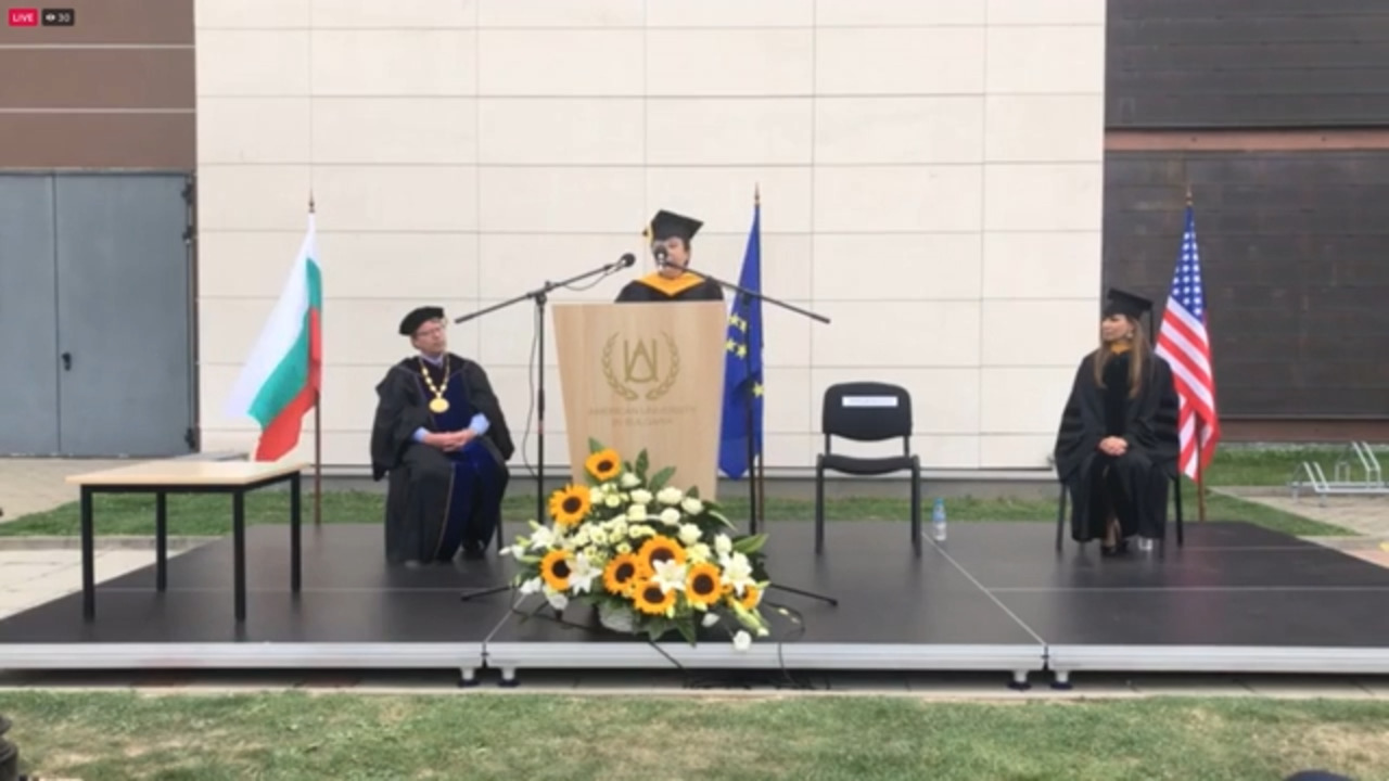 Managing Director: Honorary Degree Award Ceremony