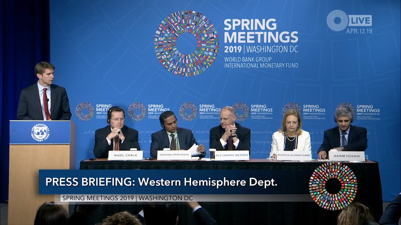 Spanish - Press Briefing: Press Briefing: Western Hemisphere Department