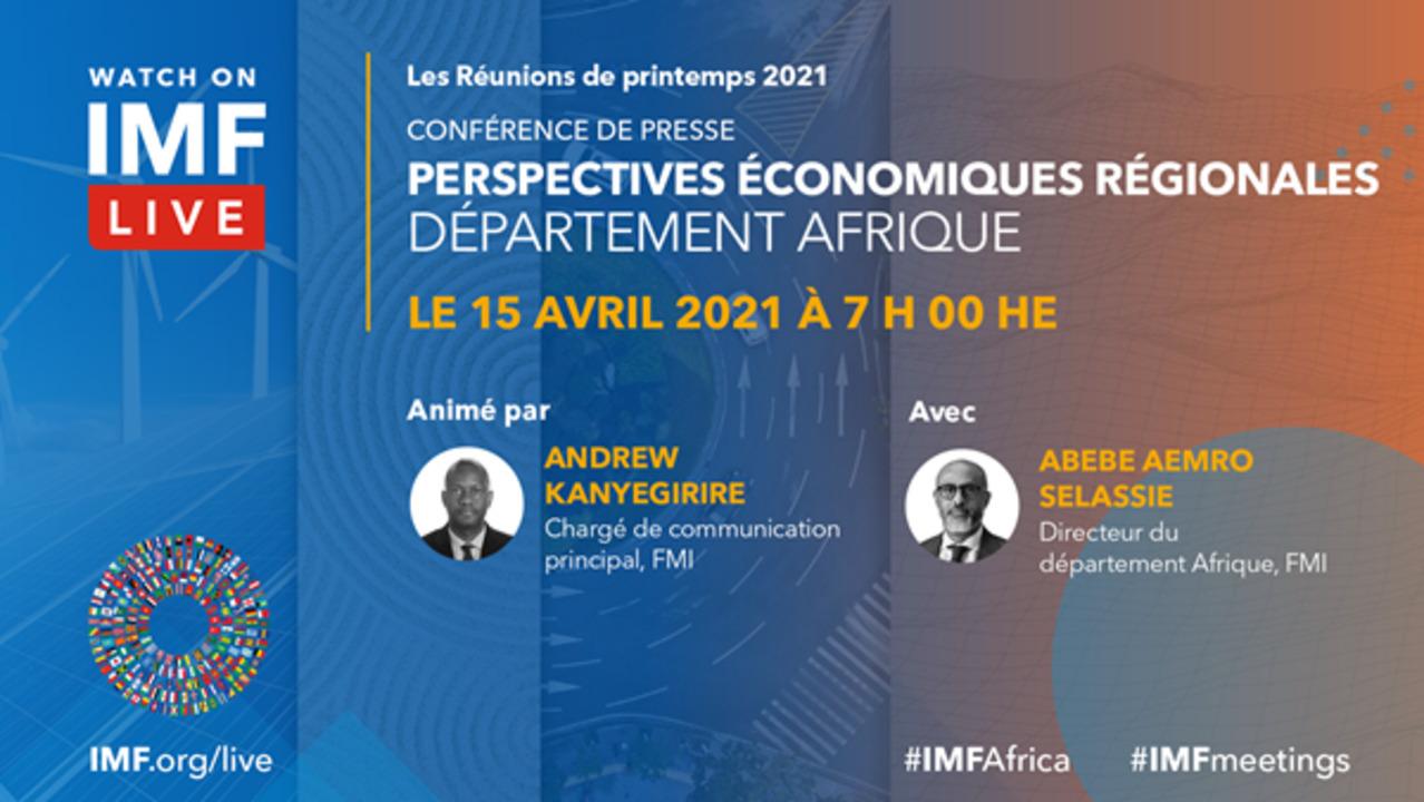 Conférence de presse | Perspectives économiques régionales : Afrique