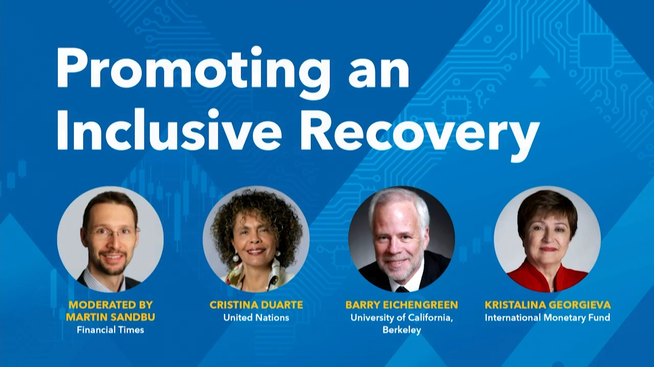 """IMF High-level Panel on """"Promoting an Inclusive Recovery"""""""