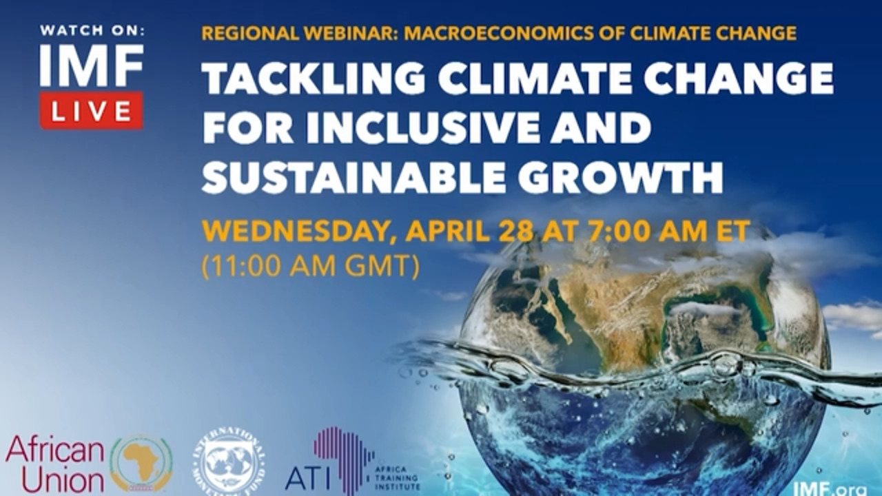 Tackling Climate Change for Inclusive and Sustainable Growth