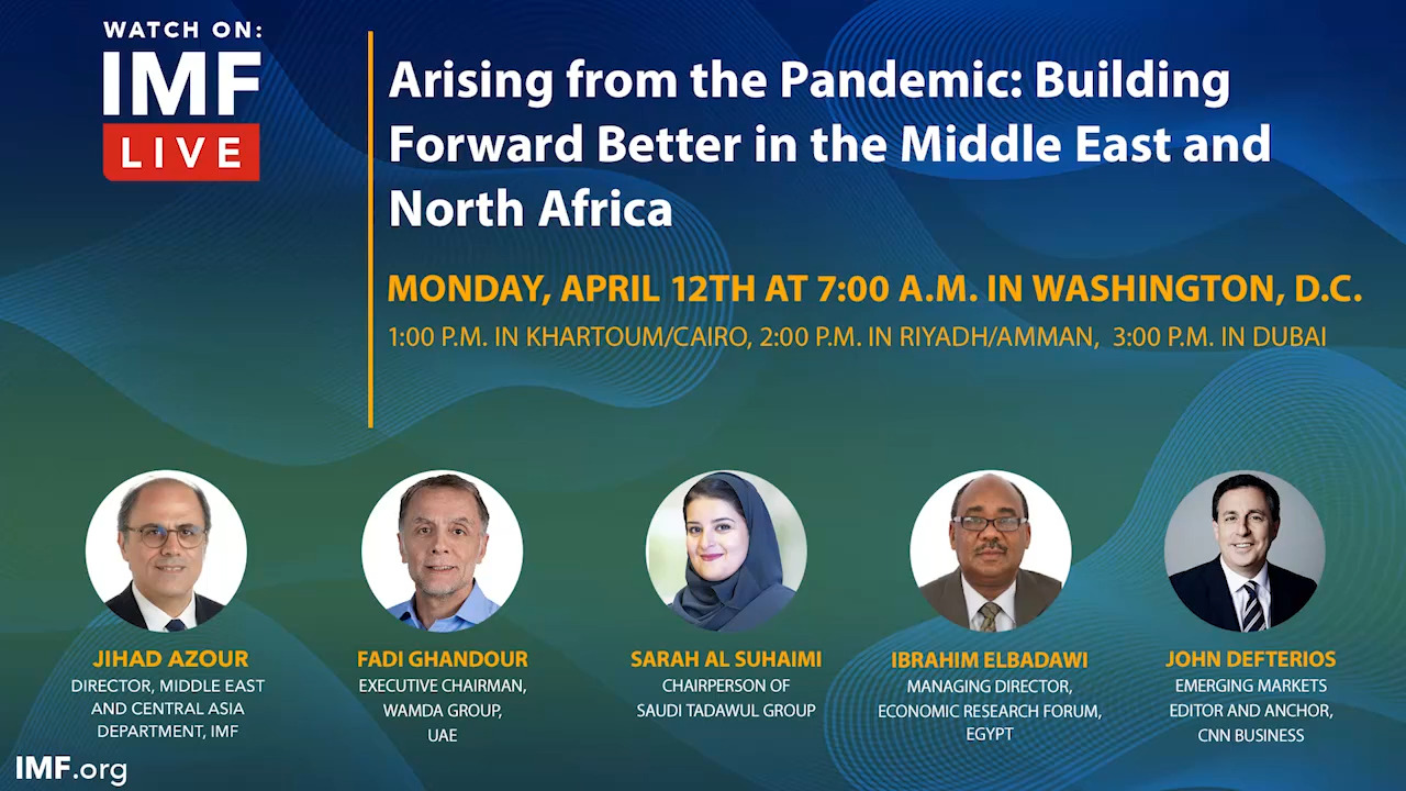 Arising from the Pandemic: Building Forward Better in the Middle East and North Africa