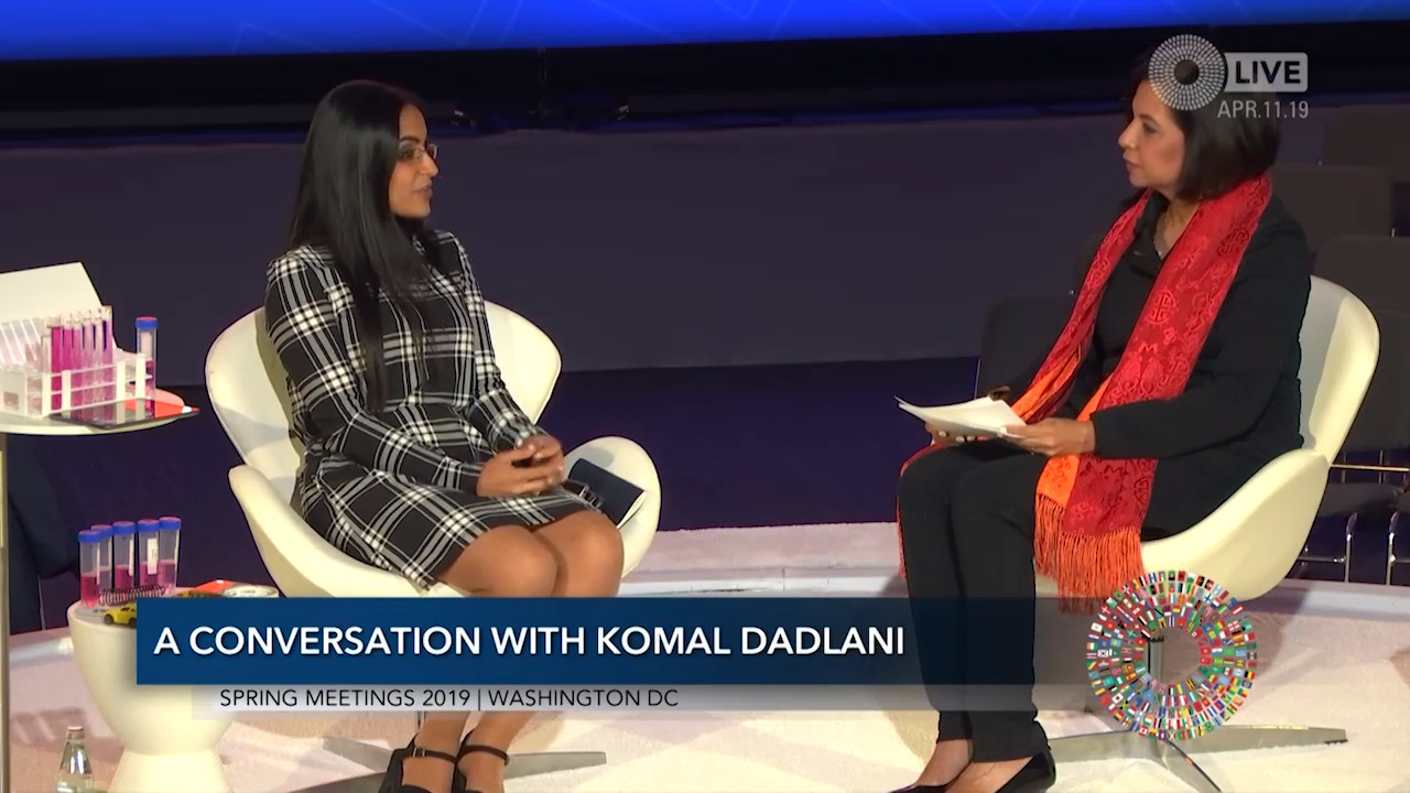 A Lab in Your Pocket: A Conversation with Komal Dadlani