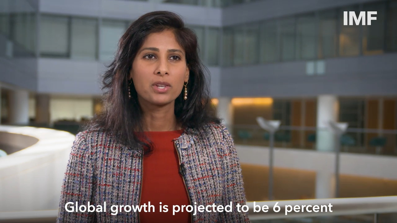 Gopinath on the July 2021 Update of the World Economic Outlook