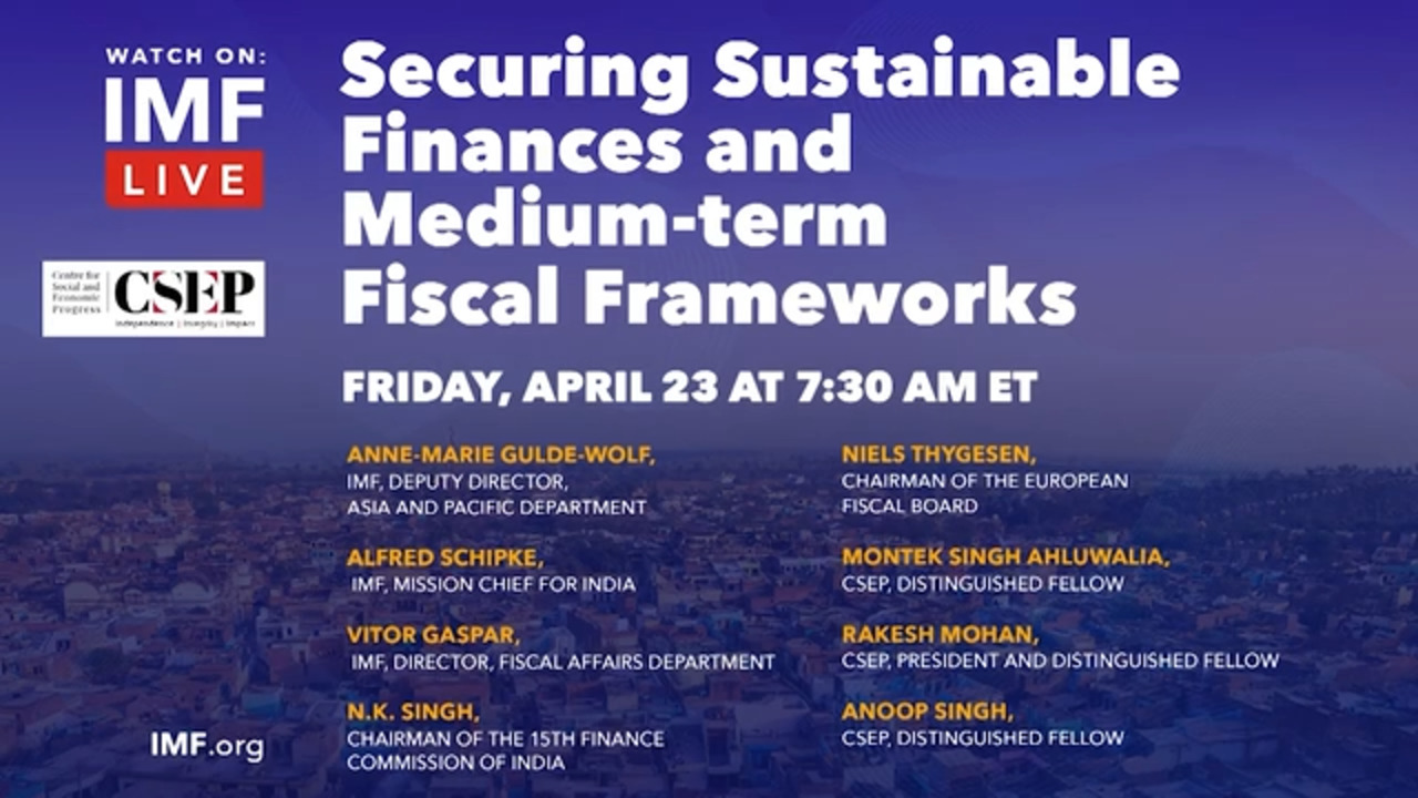 Securing Sustainable Finances and Medium-term Fiscal Frameworks: International Experience and Relevance for India
