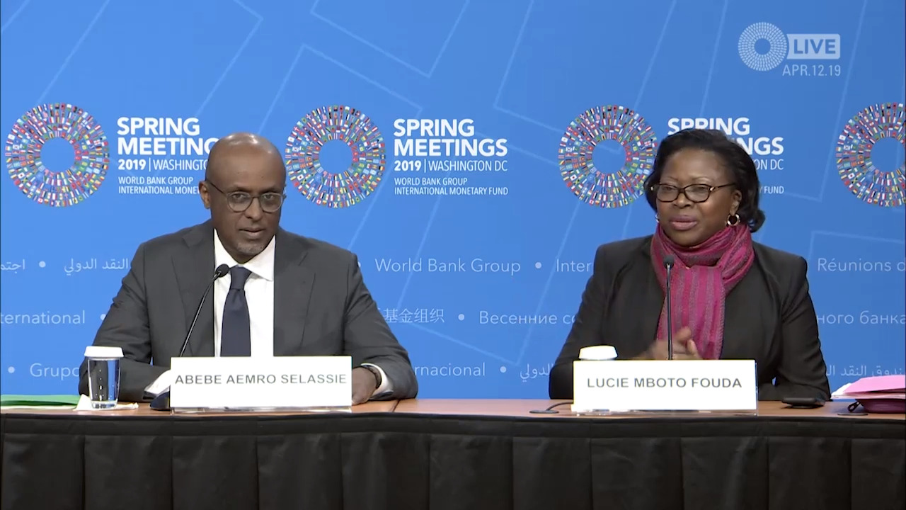 Portuguese - Press Briefing: Regional Economic Outlook: Sub-Saharan Africa, April 2019