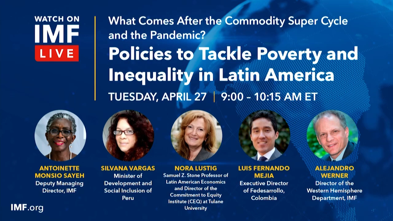 Policies to Tackle Poverty and Inequality in Latin America