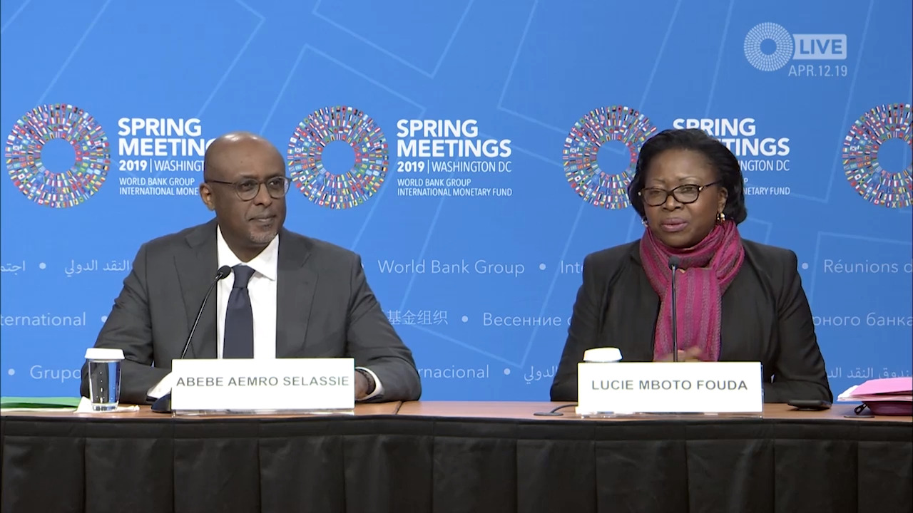 Press Briefing: Regional Economic Outlook: Sub-Saharan Africa,  April 2019