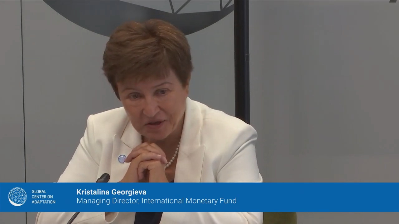 Remarks at the Global Center on Adaptation High-Level Dialogue by the Managing Director