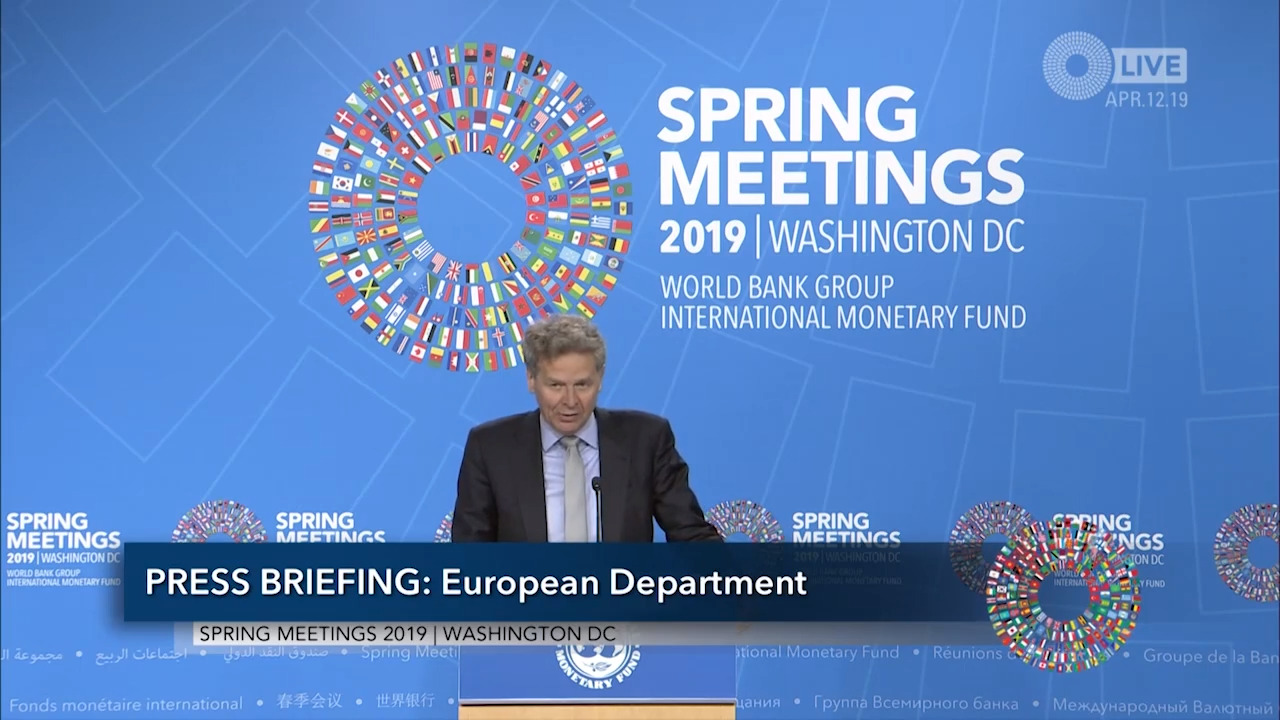 Spanish - Press Briefing: European Department