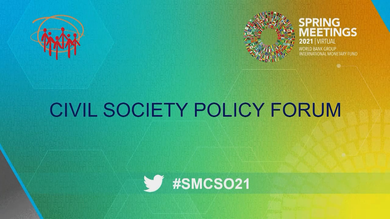 Towards a More Equal and Green Recovery A Civil Society Conversation with the IMF's Head of Policy and Strategy