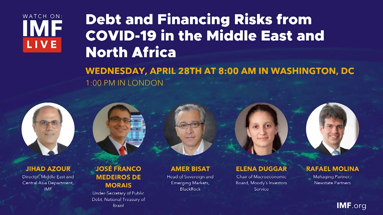Debt and Financing Risks from COVID-19 in the Middle East and North Africa