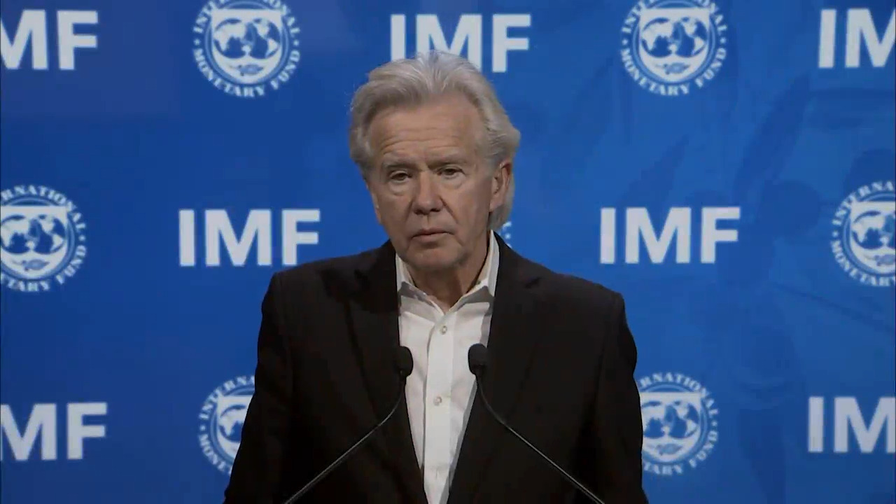Conferencia de prensa de Gerry Rice, Director, Departamento de Comunicaciones, FMI