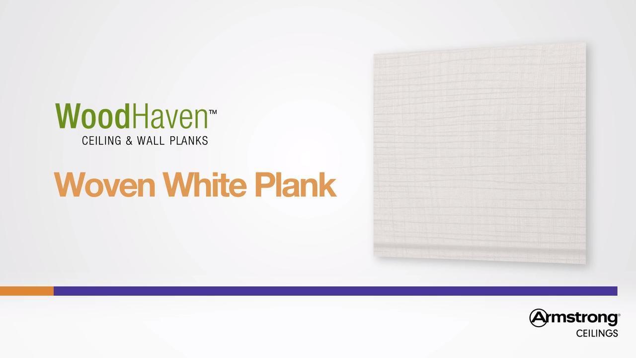 WoodHaven - Woven, blanc