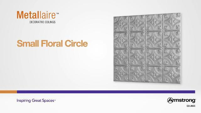 Metallaire - Small Floral Circle