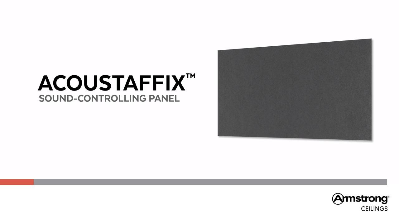 ACOUSTAFFIX Surface Mount Ceiling Panel