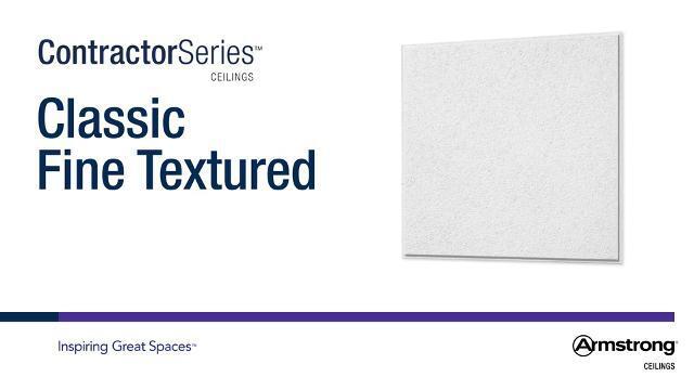 Texture fine classique