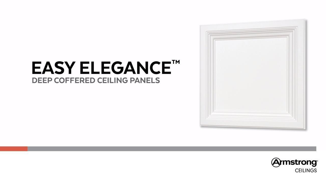 Easy Elegance - Deep Coffer White
