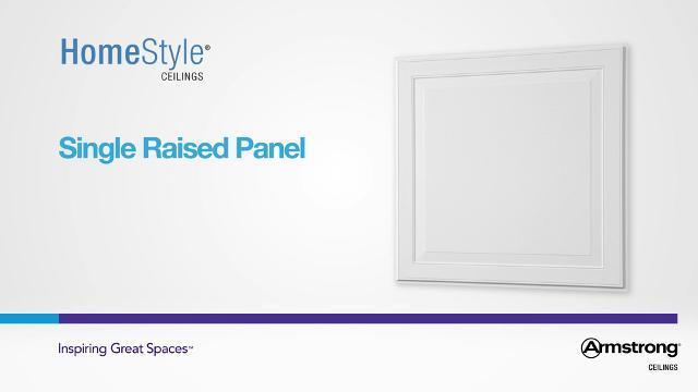 Single Raised Panel