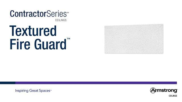 Textured Fire Guard