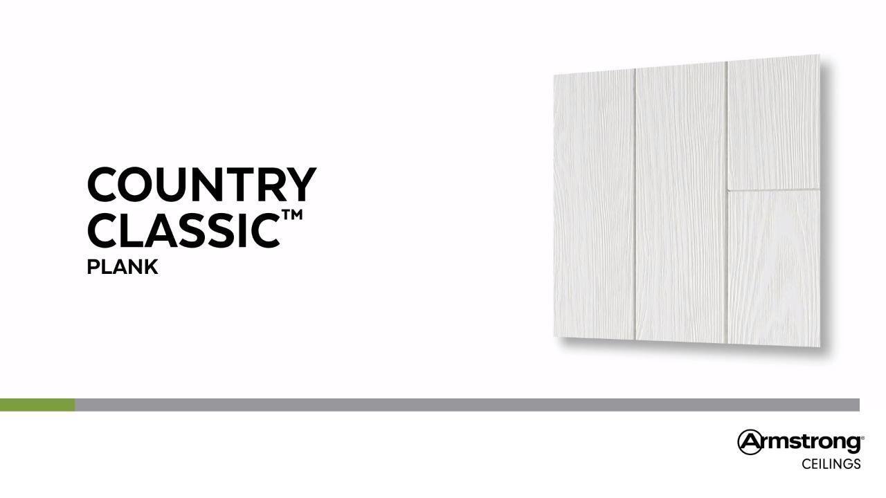 Planche Country Classique