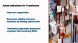 Transfusion Models in Sickle Cell Disease