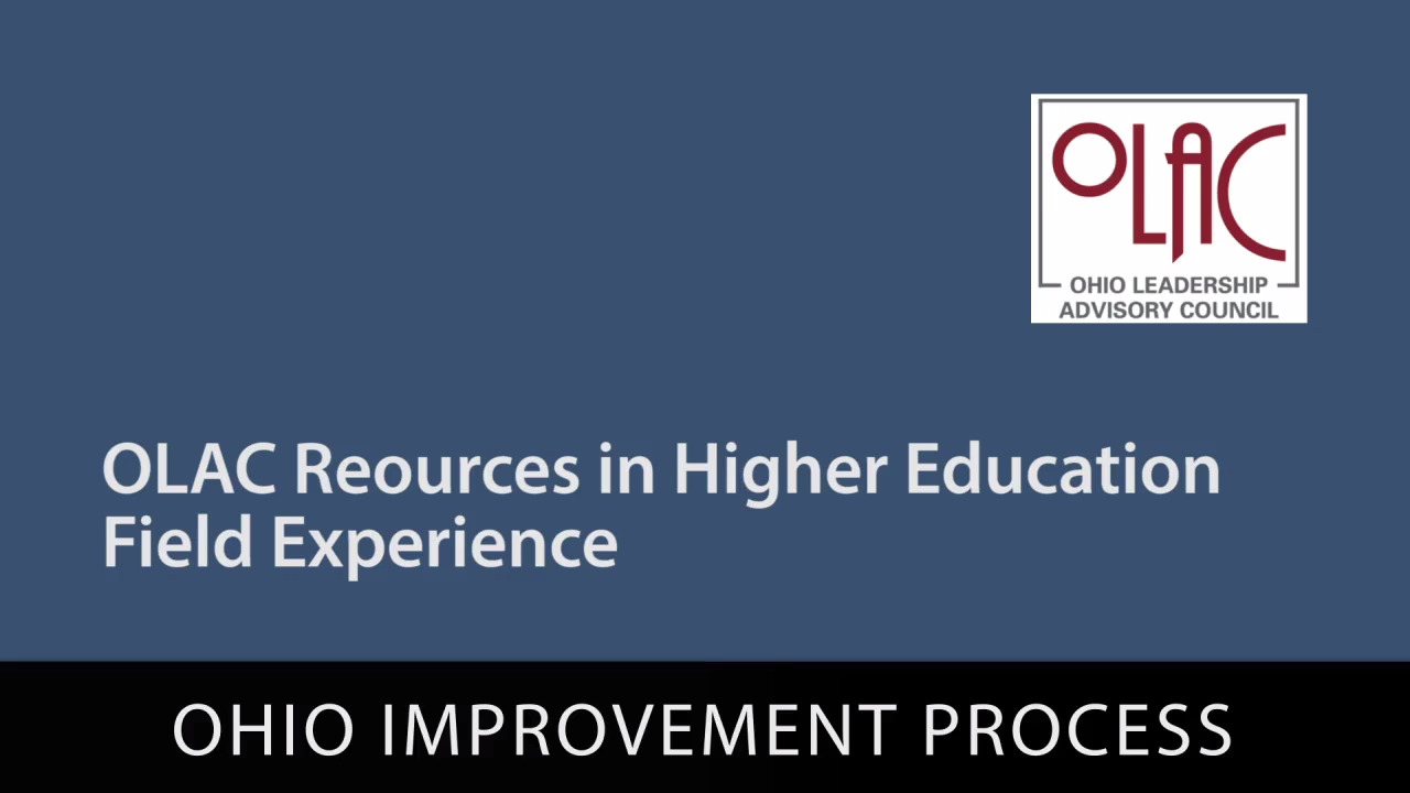 OLAC Resources in Higher Education Field Experience - Preview