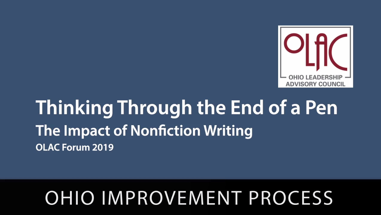 Thinking Through the End of a Pen- Nonfiction Writing - Preview