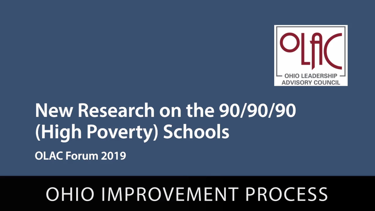 New Research on the 90-90-90 Schools - Preview