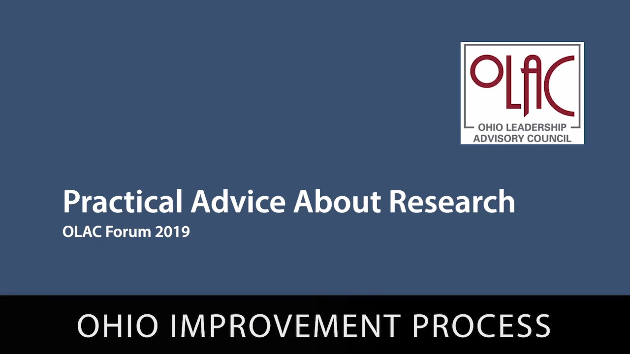 Practical Advice About Research - Preview
